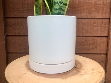 Selling: Planter Pot White Romey