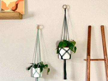Selling: Set of 3 Macrame Plant Hangers