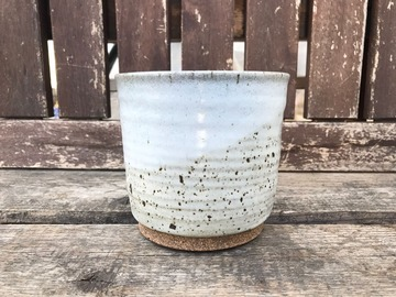 """Selling: 4"""" White Cover Pot"""