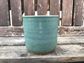 """Selling: 4"""" Green Cover Pot"""